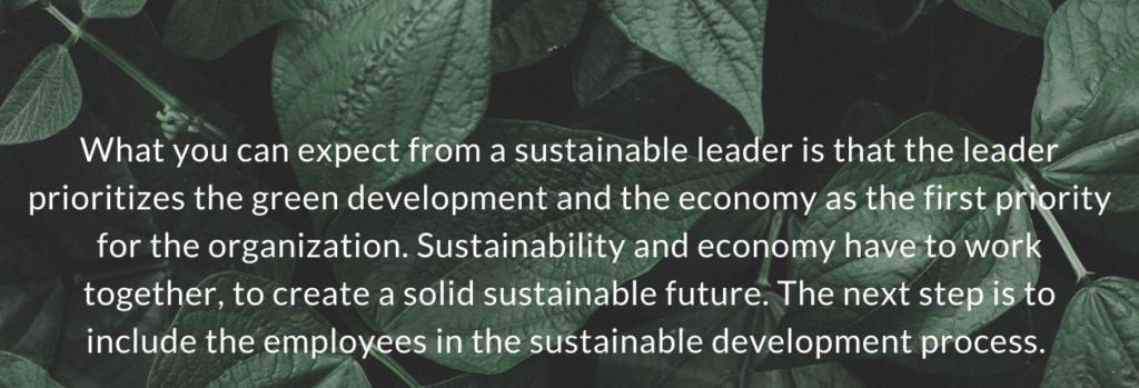 Bæredygtig ledelse uk